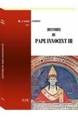 HISTOIRE DU PAPE INNOCENT III