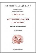 COMMENTUM IN MATTHAEUM ET JOANNEM EVANGELISTAS