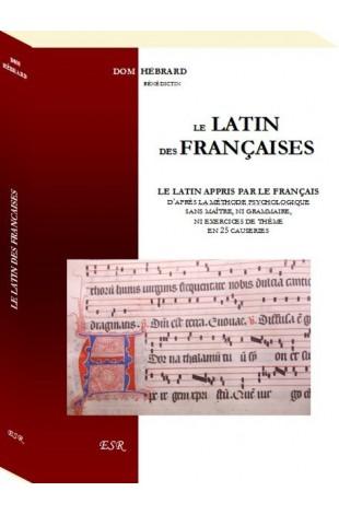 LE LATIN DES FRANCAISES