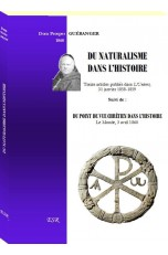 DU NATURALISME DANS L'HISTOIRE