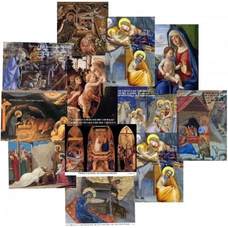 CARTES DE NOEL (lot de 12 cartes)