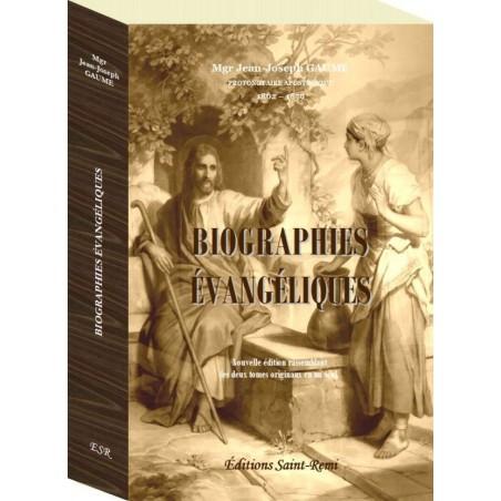 BIOGRAPHIES EVANGELIQUES, couverture rigide et cahiers cousus. Les 2 tomes en 1.