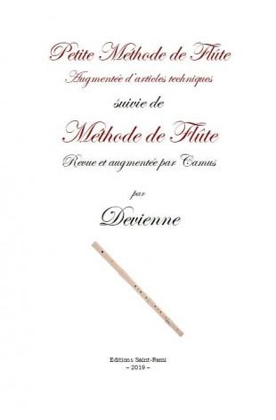 Petite Méthode de Flûte augmentée d'articles techniques suivie de Méthode de Flûte revue et augmentée par Camus