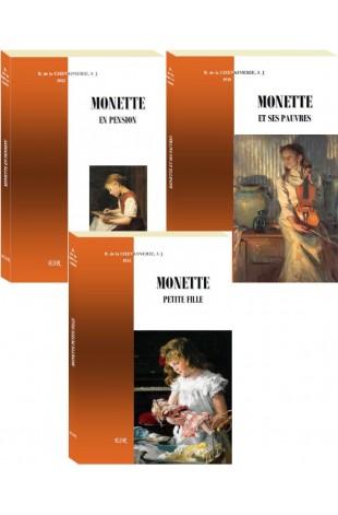 COFFRET MONETTE (3 titres)
