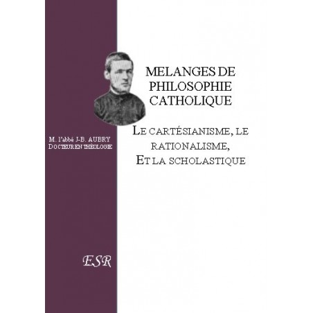 MELANGES DE PHILOSOPHIE CATHOLIQUE