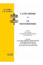 CATÉCHISME SUR LE MODERNISME, d'après l'Encyclique Pascendi Domini Gregis de Saint Pie X