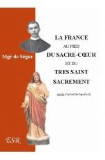 LA FRANCE AU PIED DU SACRÉ-CŒUR ET DU TRÈS SAINT SACREMENT