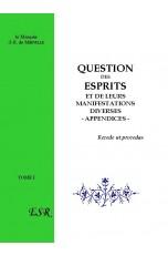 QUESTION DES ESPRITS