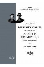 LA CAUSE DES RESTES D'ISRAEL AU CONCILE OECUMENIQUE DU VATICAN (1912)