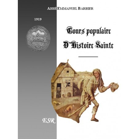 COURS POPULAIRE D'HISTOIRE SAINTE