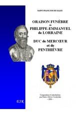 ORAISON FUNÈBRE DE PHILIPPE-EMMANUEL DE LORRAINE, DUC DE MERCŒUR
