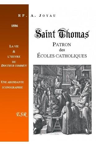 SAINT THOMAS, PATRON DES ECOLES CATHOLIQUES