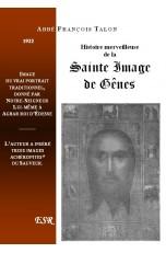 HISTOIRE MERVEILLEUSE DE LA SAINTE IMAGE DE GENES