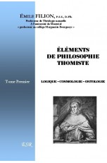 ELEMENTS DE PHILOSOPHIE THOMISTE