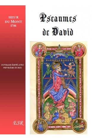 PSEAUMES DE DAVID (édition de 1706)