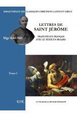 LETTRES DE SAINT JEROME, latin et traduction française en vis-à-vis.
