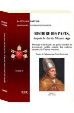 HISTOIRE DES PAPES, depuis la fin du Moyen Age