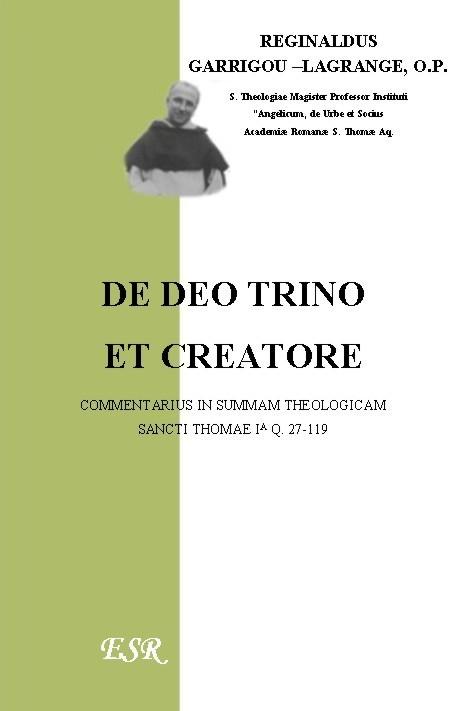 DE DEO TRINO ET CREATORE