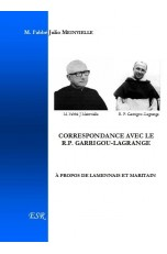 CORRESPONDANCE AVEC LE R.P. GARRIGOU-LAGRANGE À PROPOS DE LAMENNAIS ET MARITAIN