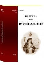 PRIERES DITES DE SAINTE GERTRUDE