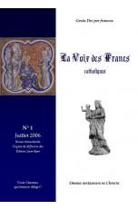 La Voix des Francs n°1