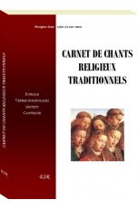 CARNET DE CHANTS RELIGIEUX TRADITIONNELS