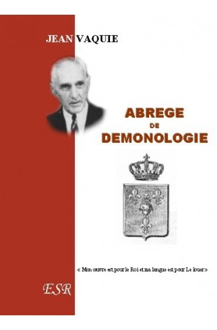 ABREGE DE DEMONOLOGIE