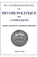 LE DEVOIR POLITIQUE DES CATHOLIQUES