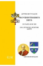 "Lettre encyclique ""PROVIDENTISSIMUS DEUS"""