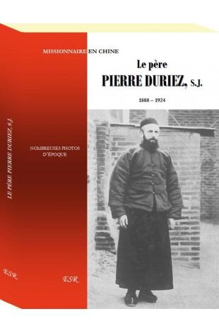 LE PÈRE PIERRE DURIEZ, S.J.