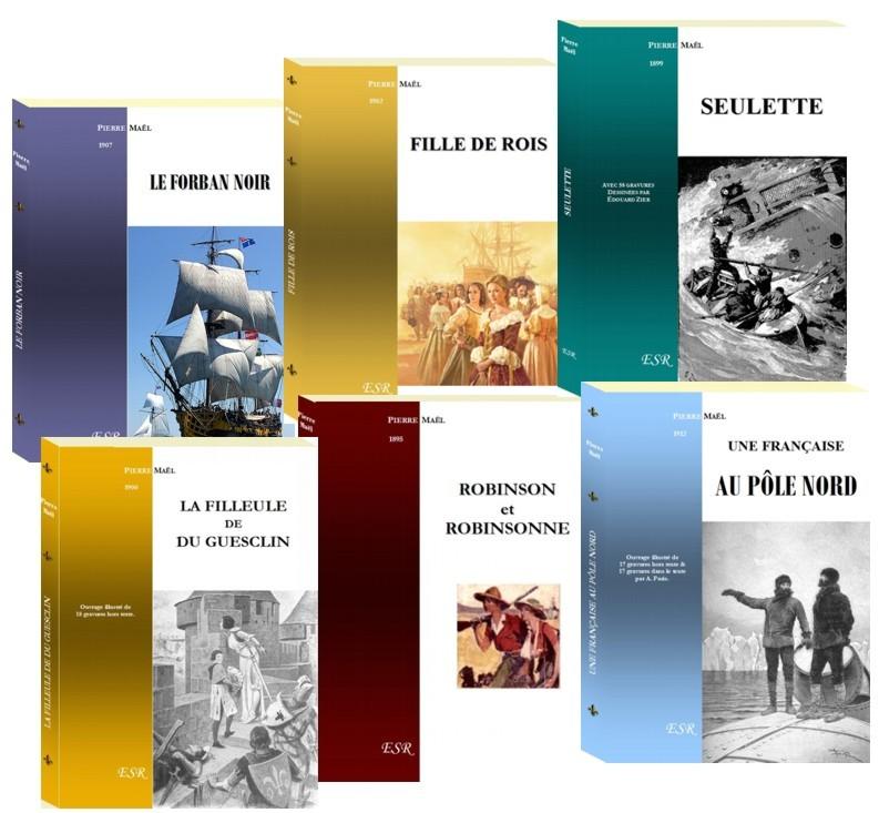COFFRET PIERRE MAËL (9 titres)