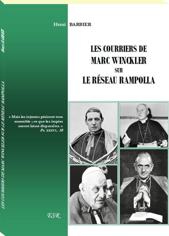 LES COURRIERS DE MARC WINCKLER SUR LE RÉSEAU RAMPOLLA