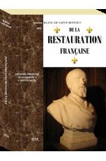 DE LA RESTAURATION FRANÇAISE