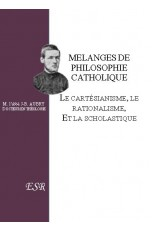 MELANGES DE PHILOSOPHIE CATHOLIQUE