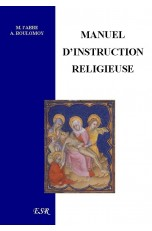 MANUEL D'INSTRUCTION RELIGIEUSE