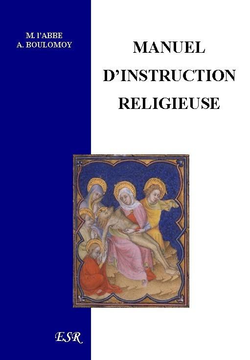MANUEL D'INSTRUCTION RELIGIEUSE