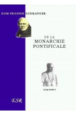DE LA MONARCHIE PONTIFICALE