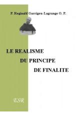 LE REALISME DU PRINCIPE DE FINALITE