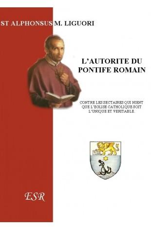 L'AUTORITE DU PONTIFE ROMAIN