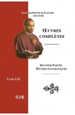 ŒUVRES COMPLETES, IIe Part. œuvres dogmatiques