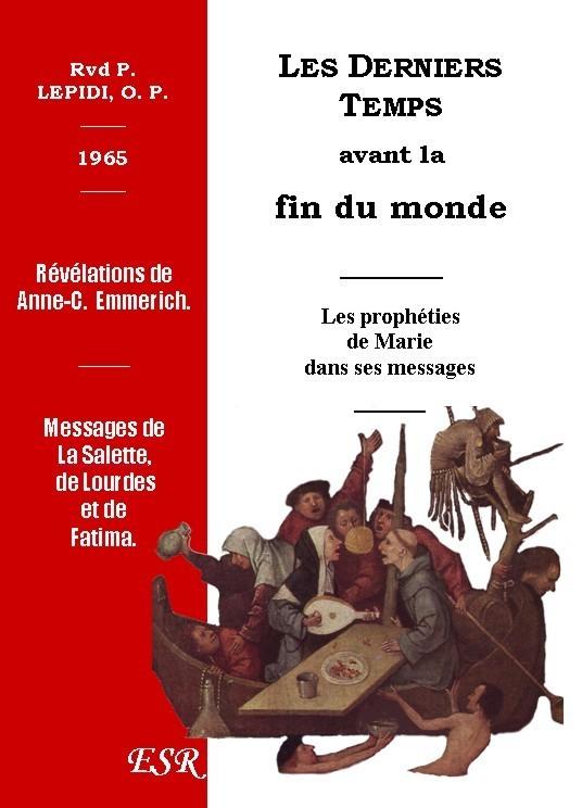 LES DERNIERS TEMPS AVANT LA FIN DU MONDE, 1965