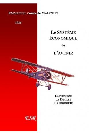 LE SYSTEME ECONOMIQUE DE L'AVENIR