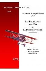 LA MISSION DU PEUPLE DE DIEU, 16ème part. LES PROBLÈMES DE L'EST ET LA PETITE ENTENTE.