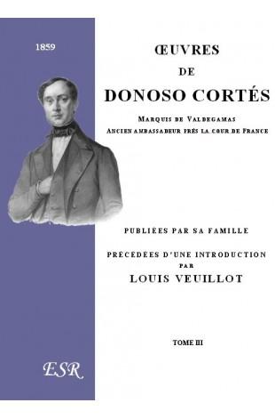 ŒUVRES DE DONOSO CORTES
