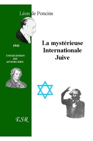 LA MYSTERIEUSE INTERNATIONALE JUIVE