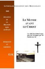 LE MONDE AVANT LE CHRIST