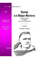 APOLOGIE DU CHRISTIANISME AU POINT DE VUE DES MOEURS ET DE LA CIVILISATION