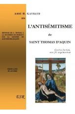 L'ANTISEMITISME DE SAINT THOMAS D'AQUIN