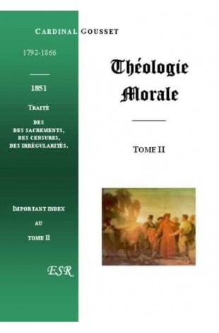 THEOLOGIE MORALE